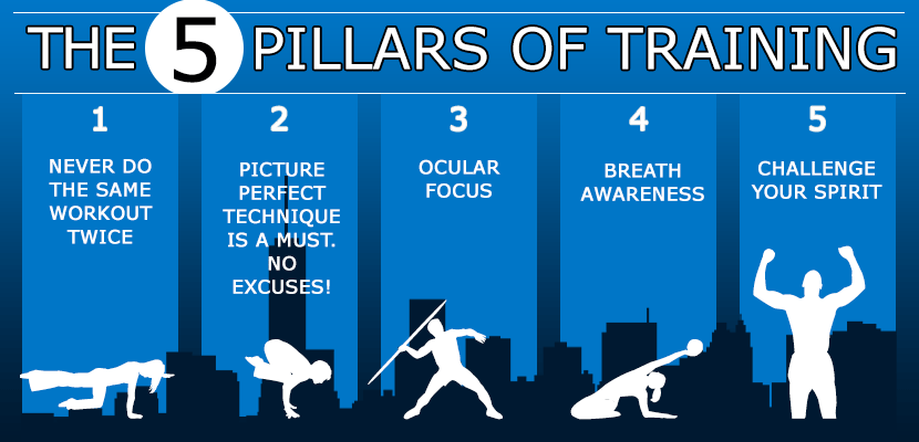 5 pillars of training
