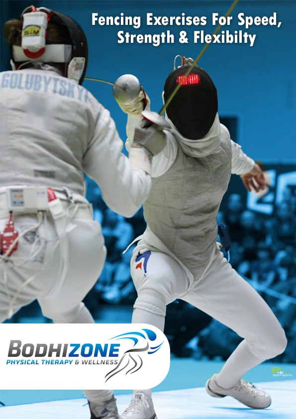 fencing for strength, speed and flexibility