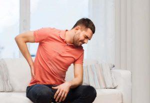 Image of man having back pain issue